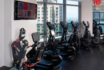 New York Hotel with Fitness Center