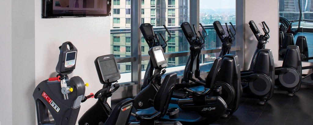 Hotel di New York con area fitness