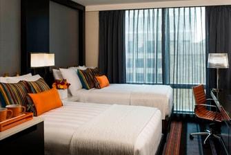 マンハッタンのホテルの客室