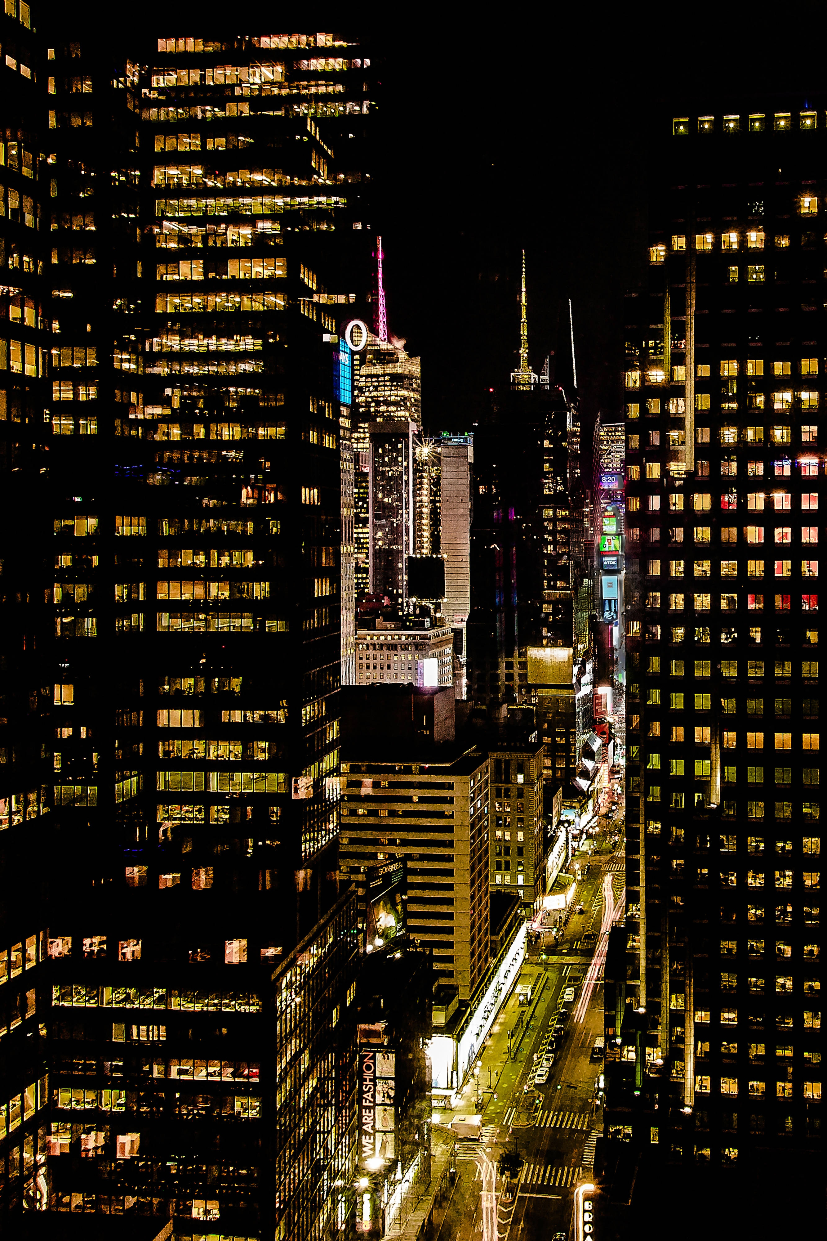 Times Square King Guest Room View