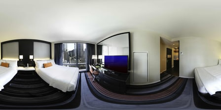 Double bedded City View Guest Room