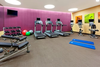 Gimnasio del Fairfield Inn Manhattan