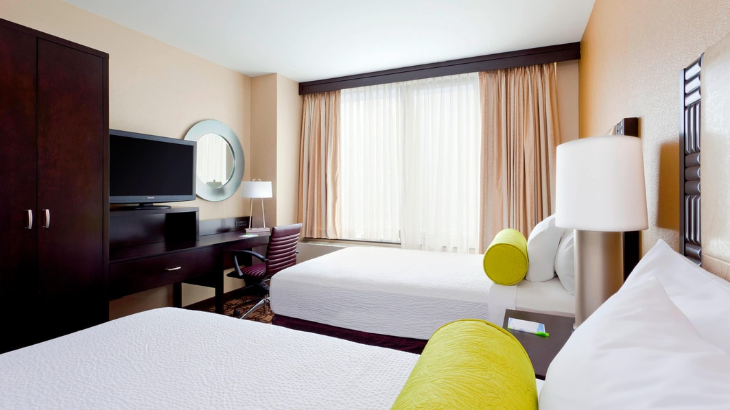 NY Midtown Hotels Double Guest Room