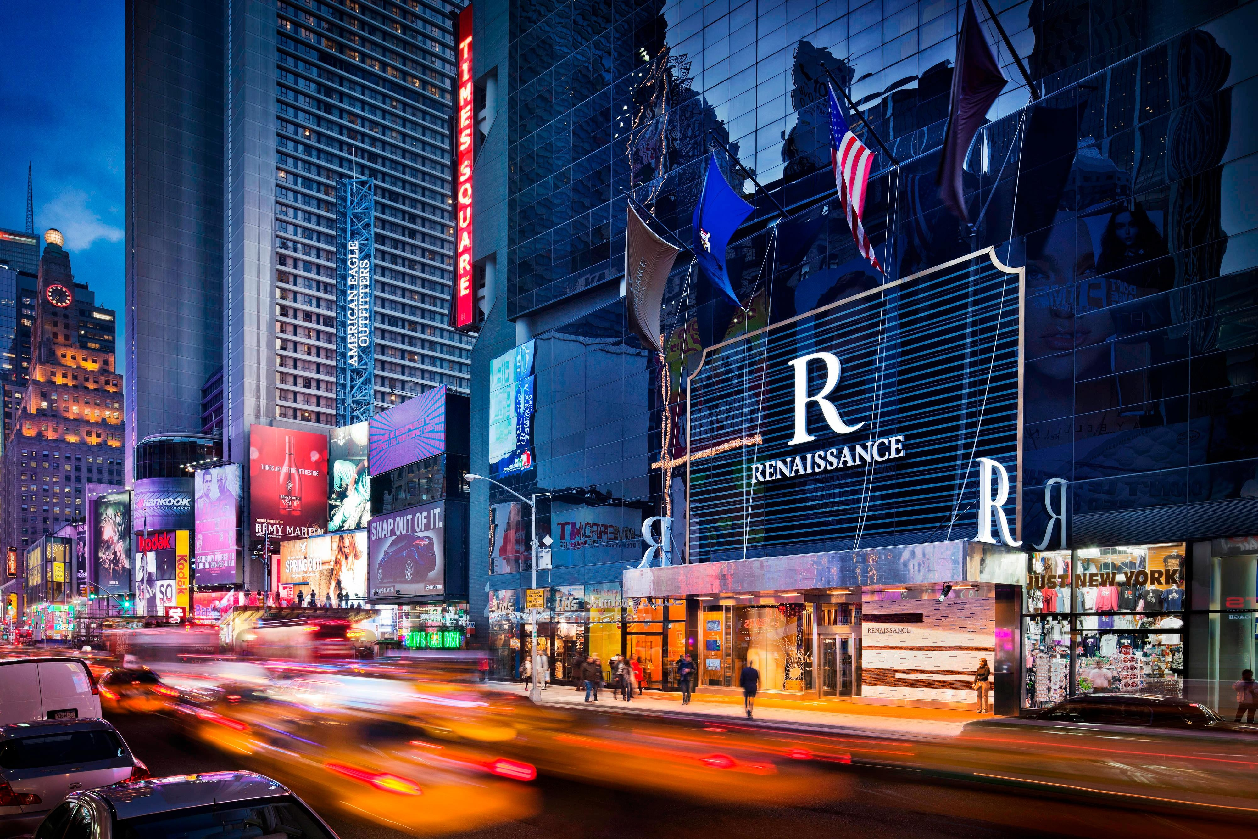 Time Square luxury hotel
