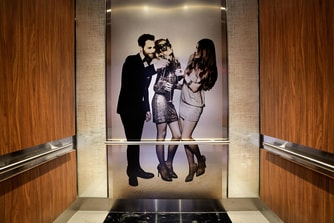 Renaissance New York Midtown Hotel Elevator Design