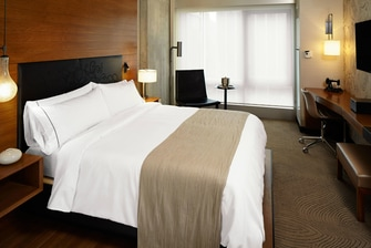 Quanto Standard King do hotel Renaissance em Midtown, Nova York