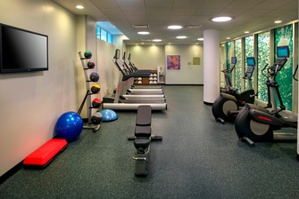 nyc hotel fitness center