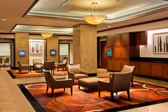 Executive Conference Center - West Lounge Area
