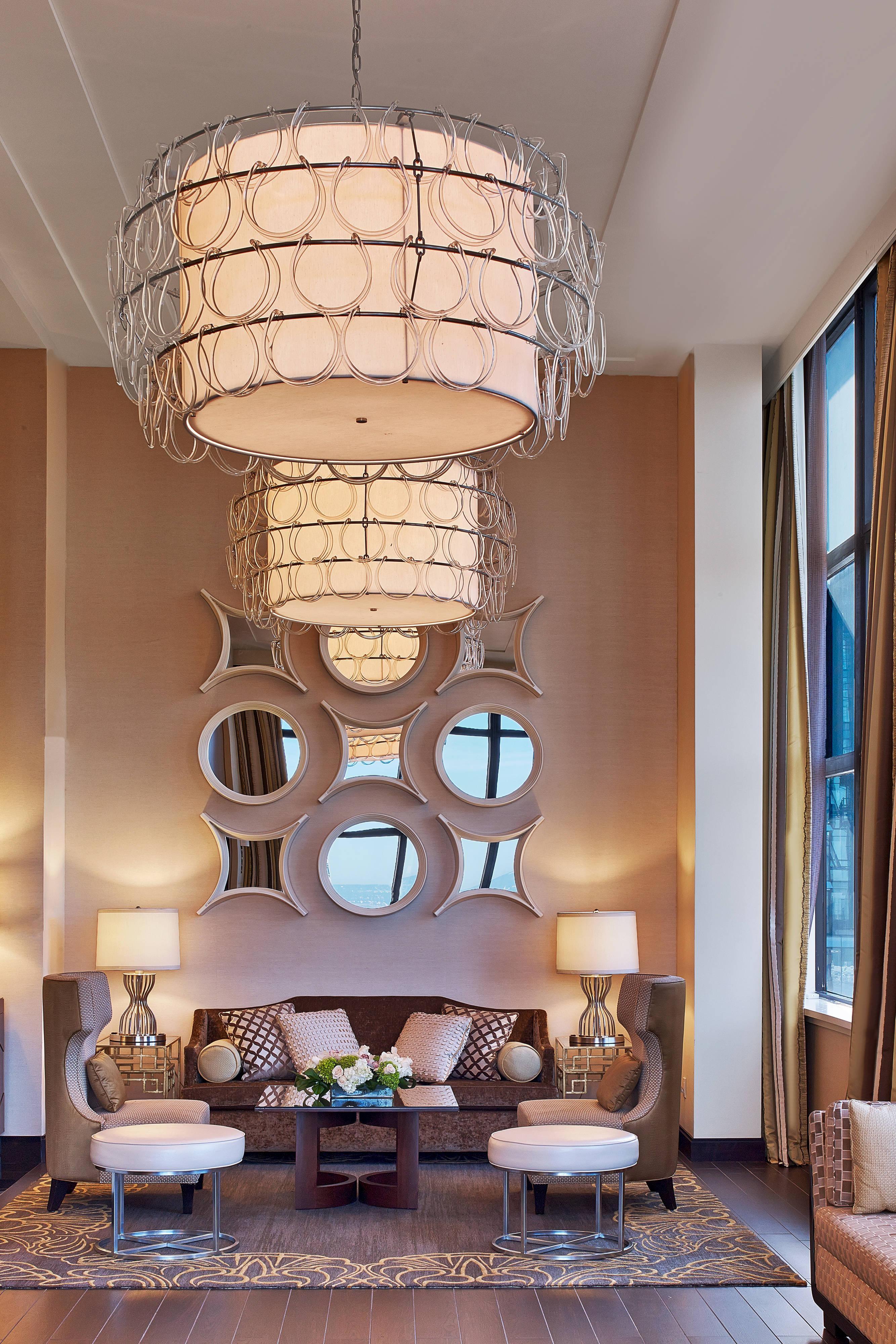 Penthouse Suite - Living Area