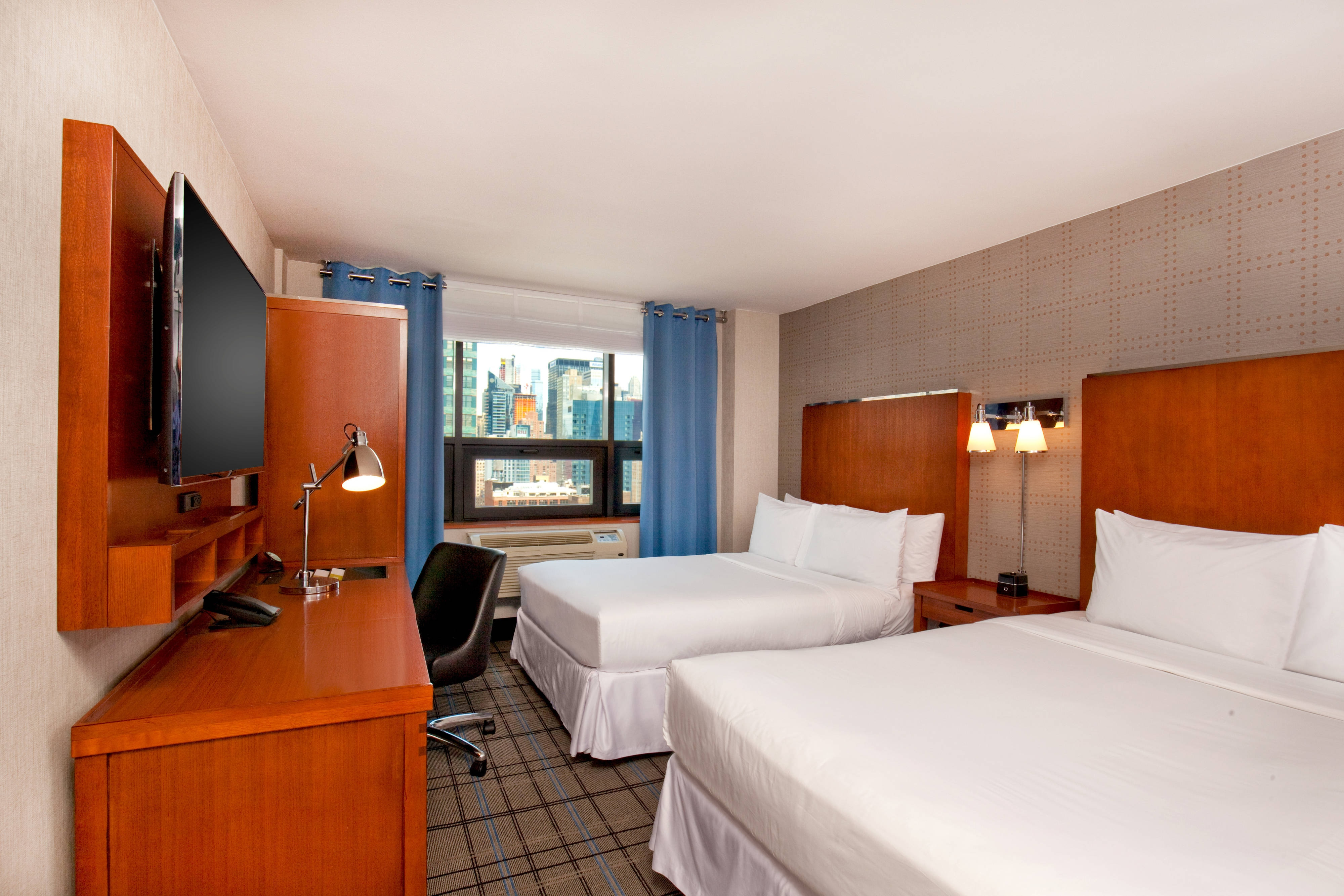 City View Double Guest Room, 2 Double Beds