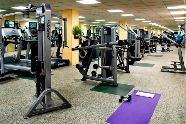 Tarrytown New York hotel gym
