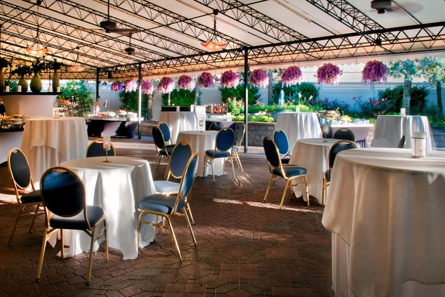 Outdoor event terrace Tarrytown