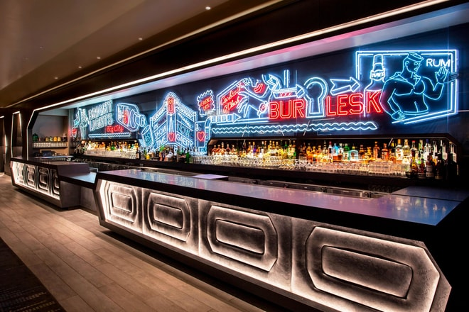 Bar Neon Living Room