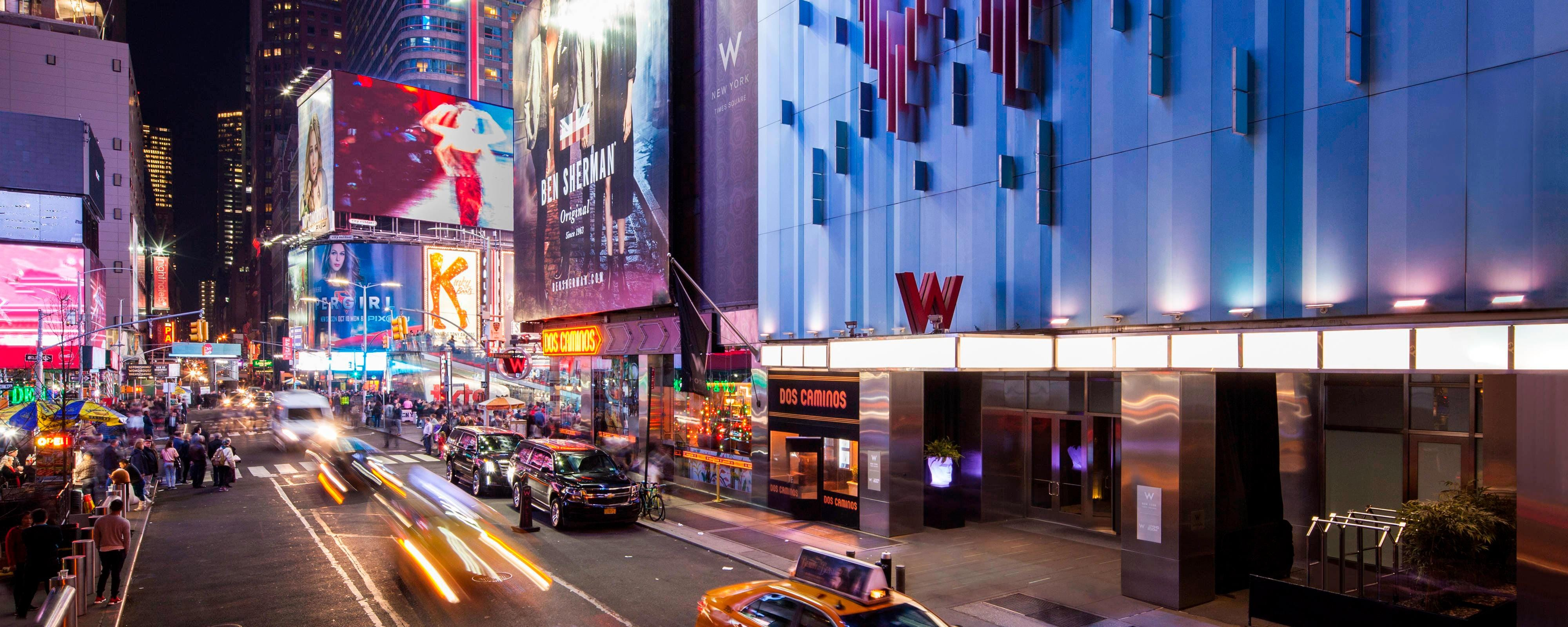 Spectacular Location In The Heart Of Times Square