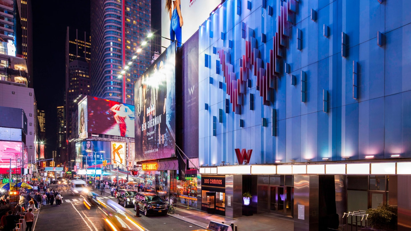 Hotel in Times Square, New York | W New York - Times Square