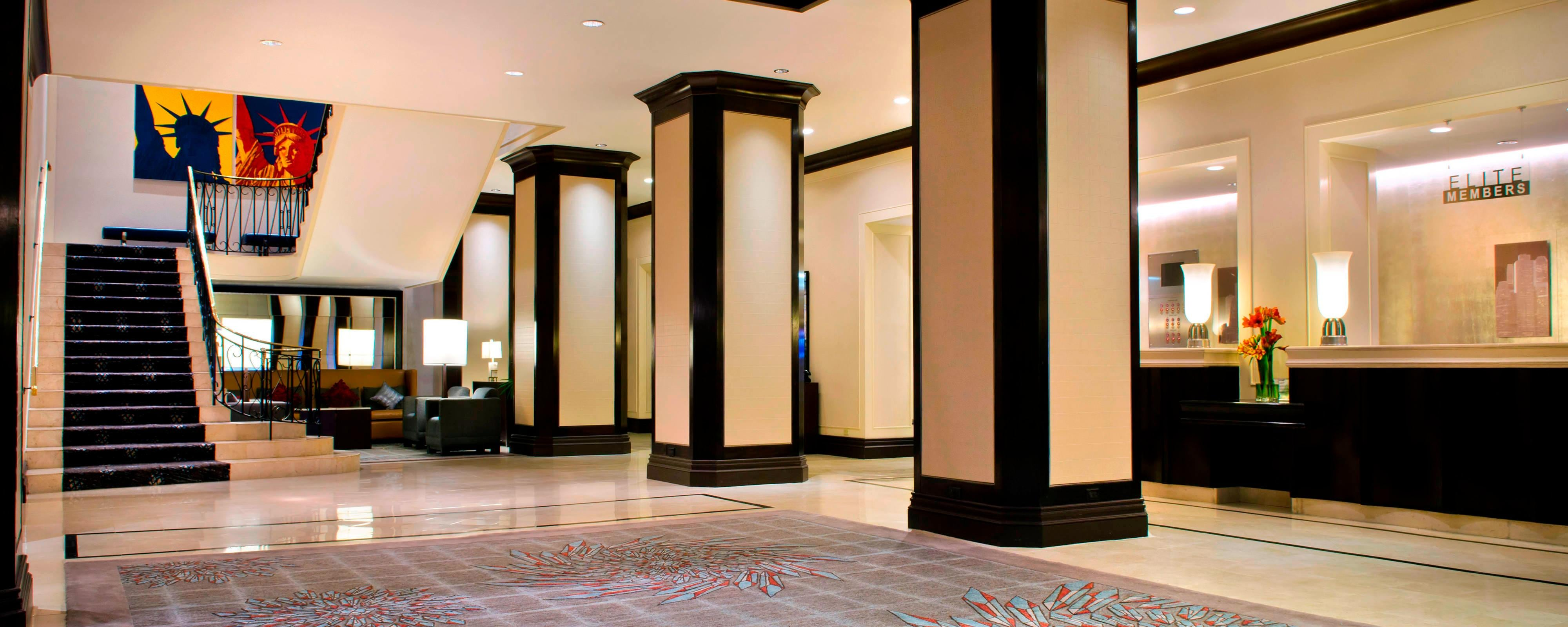 NYC Hotel Near Subway Station | New York Marriott Downtown