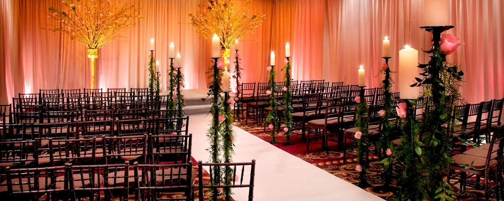 Grand Ballroom Wedding Ceremony Location