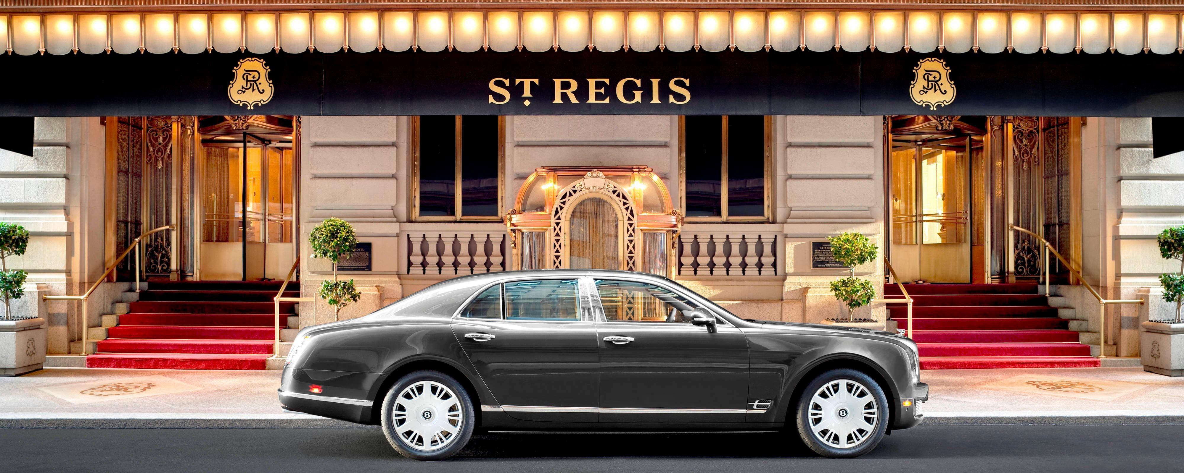 Bentley Courtesy Car