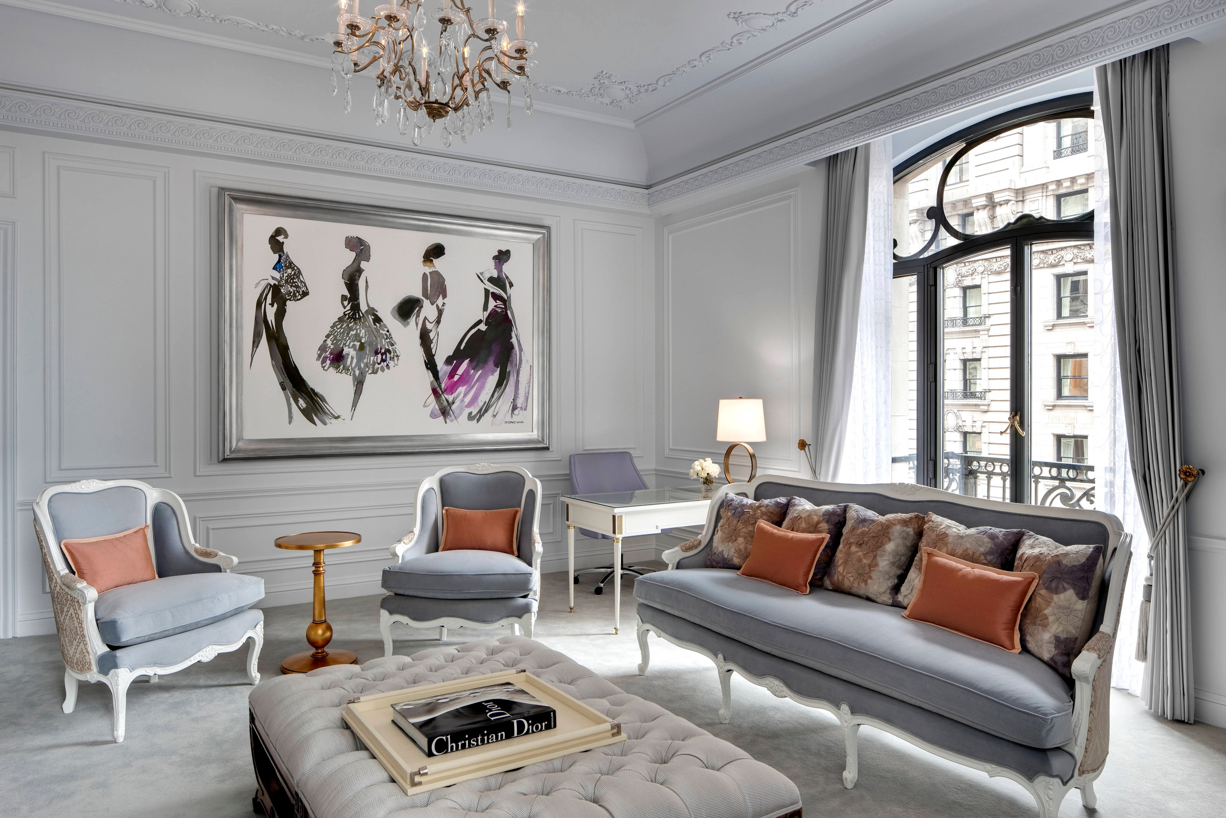 Dior Suite - Living Room