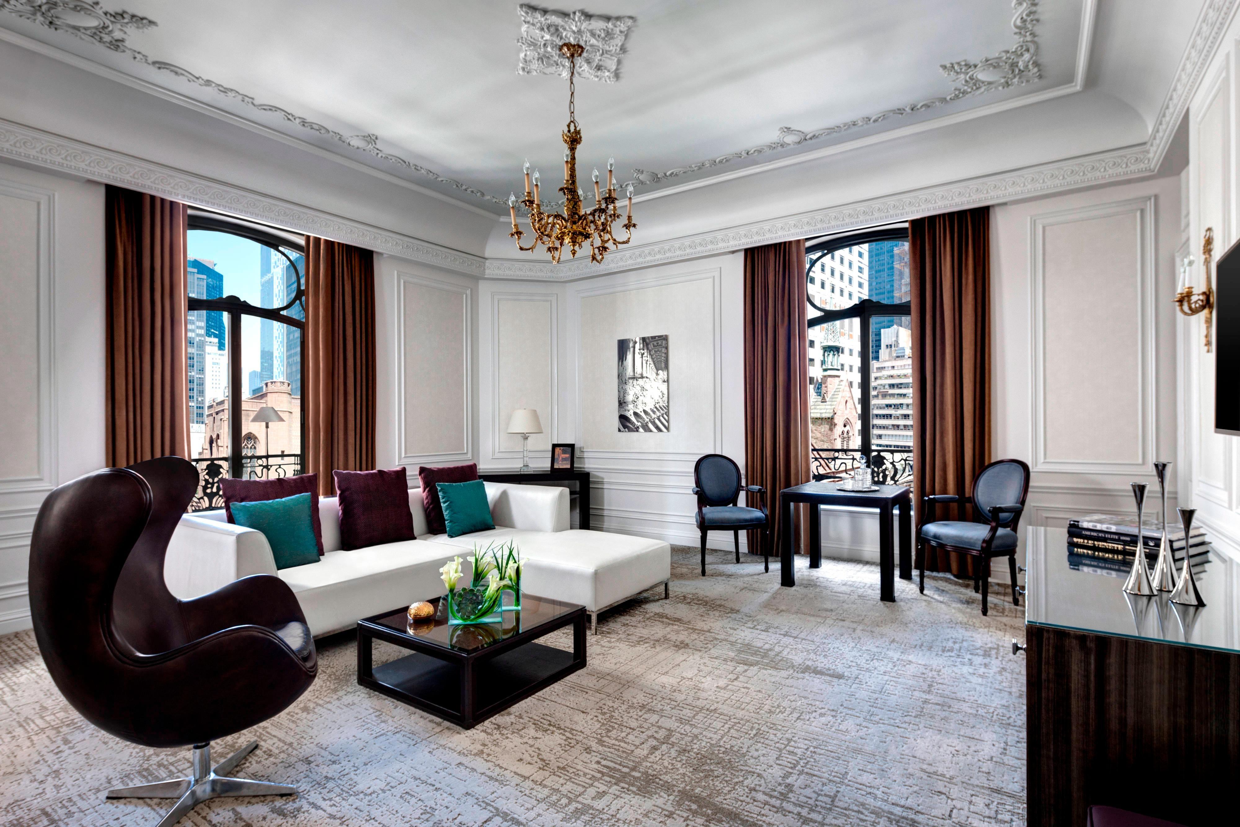 Milano Suite - Living Room