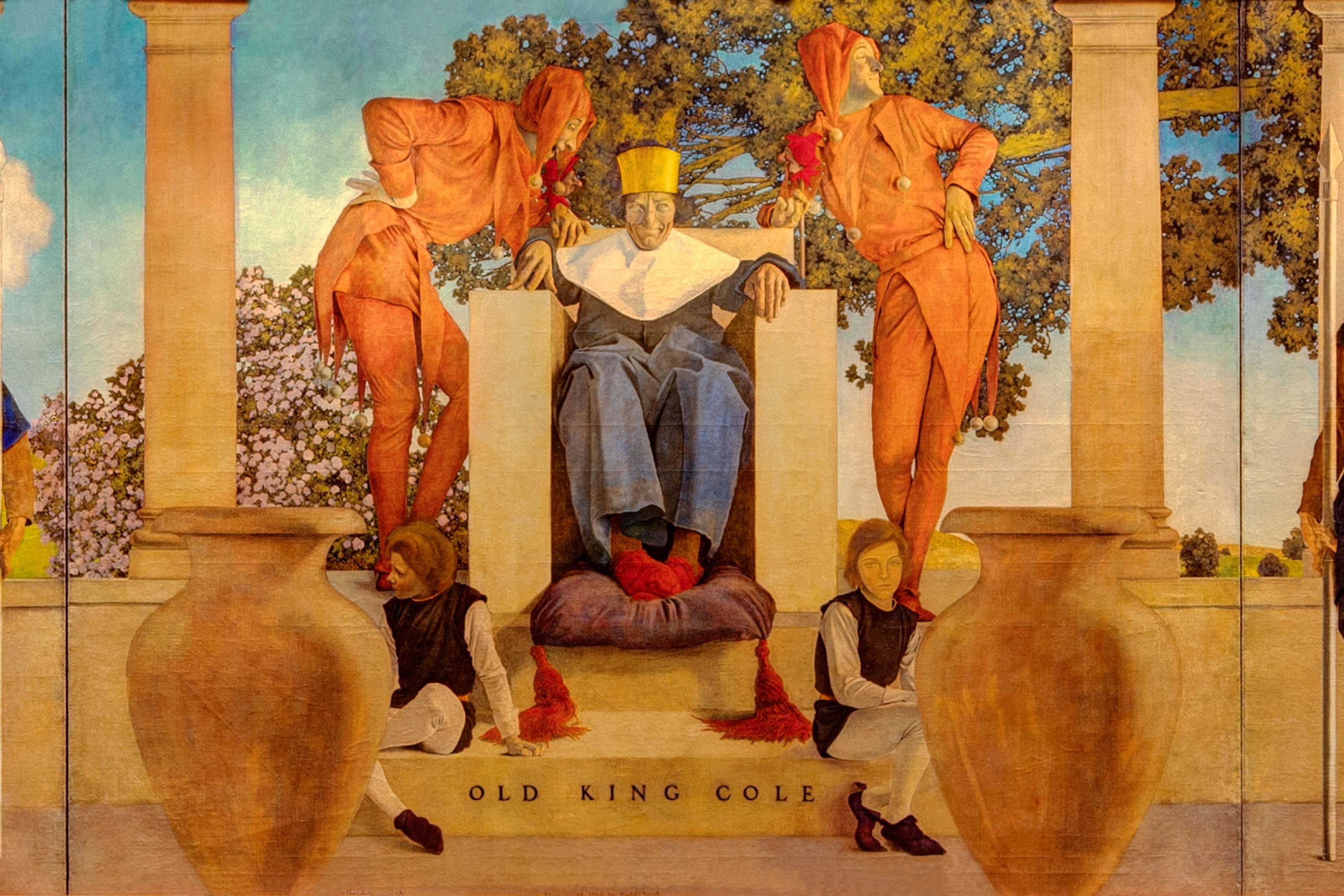 Old King Cole Mural