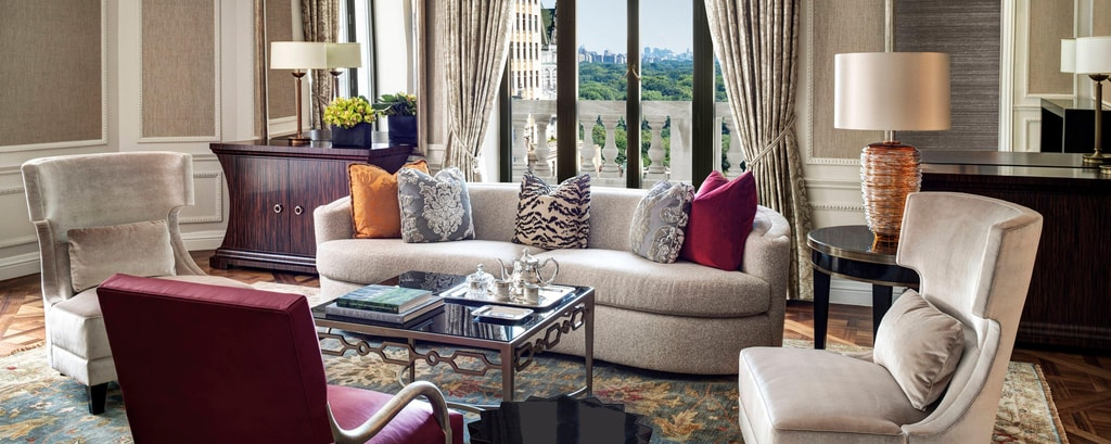 Presidential Suite – living room