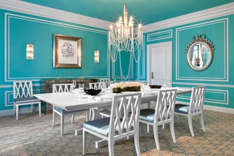 Tiffany Suite - Dining Room