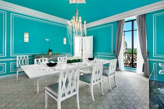 Tiffany Suite - Dining Room with Central Park View