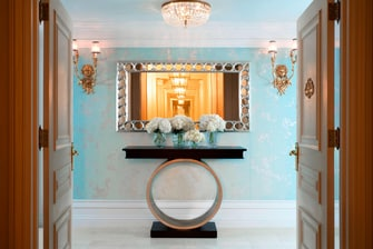 Tiffany Suite – Eingang