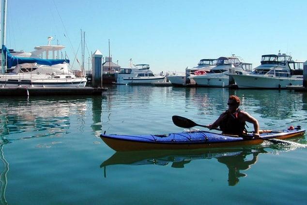 Kayaking on Oakland Waterfront