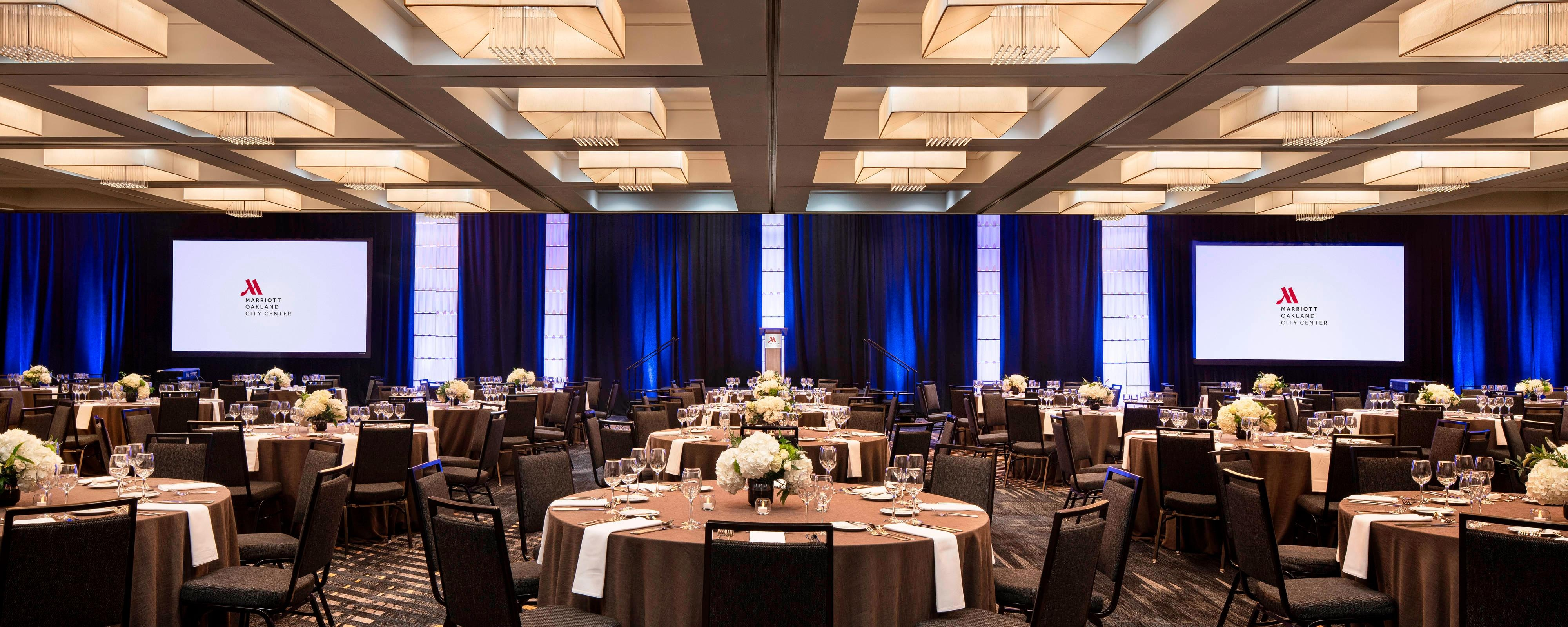 Oakland Event Venues - Meeting Rooms | Oakland Marriott City Center