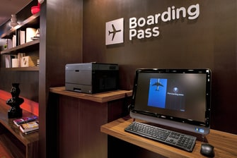 Boarding Pass Station