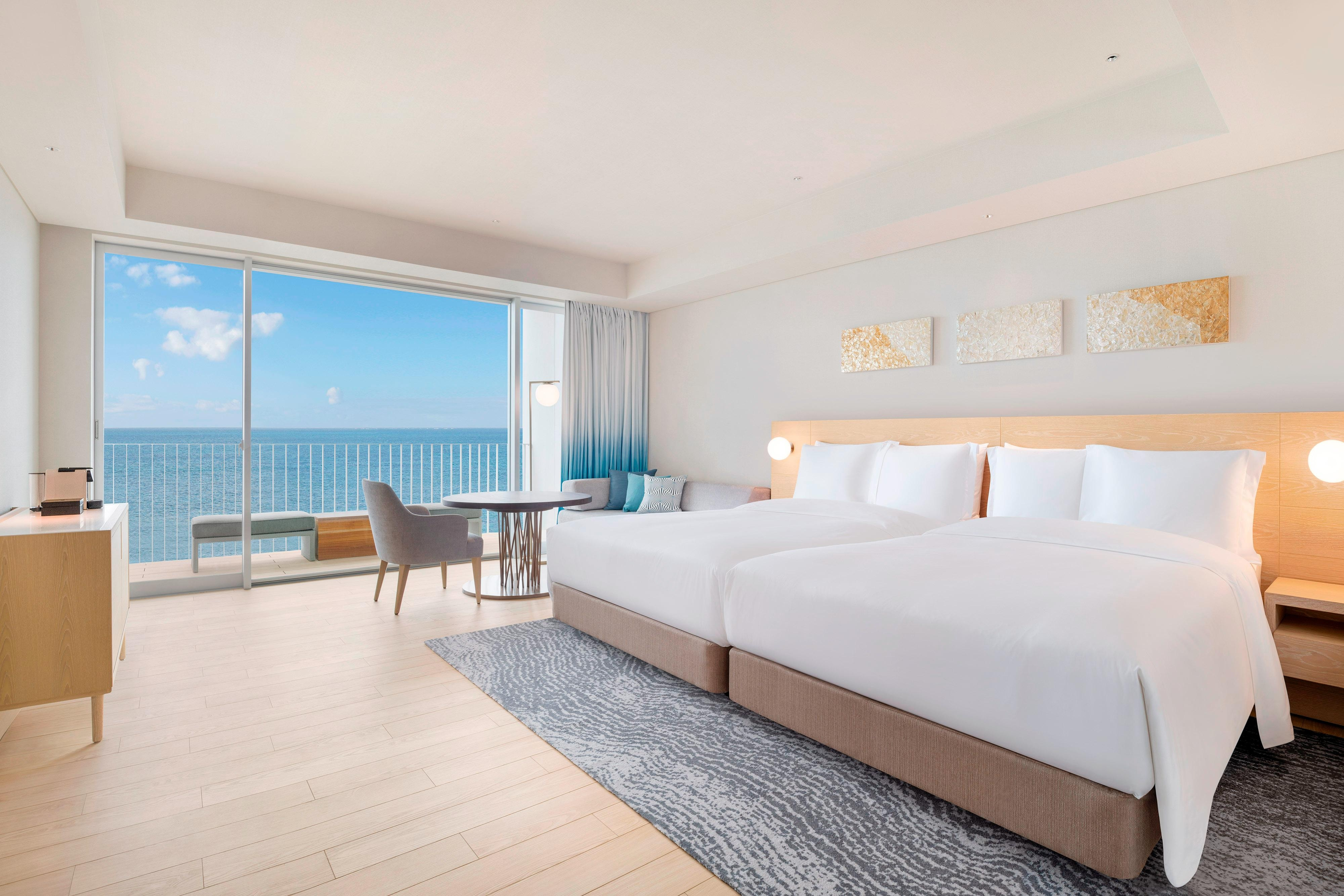 Double/Double Upper Oceanview Guest Room