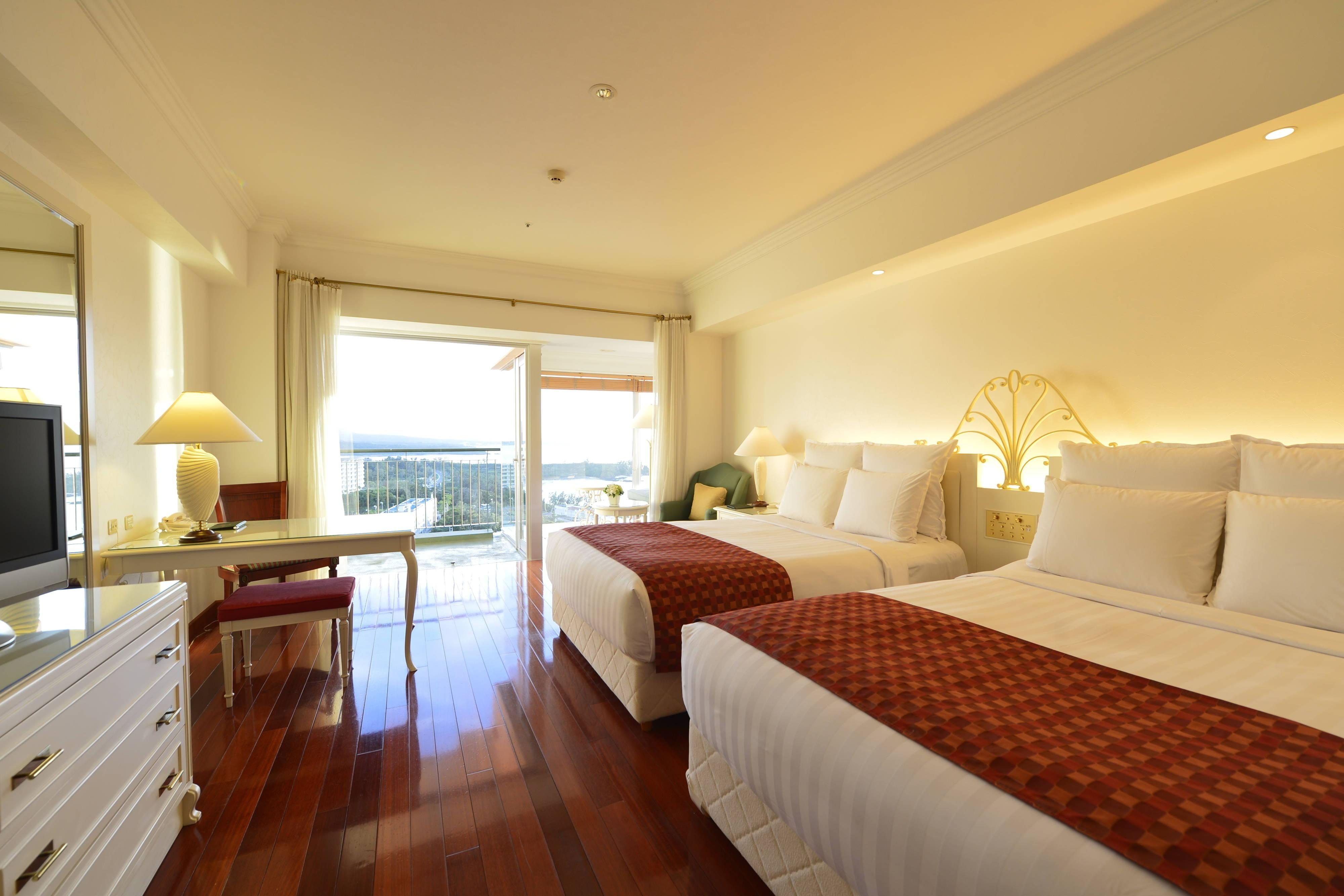 Okinawa Marriott Hotel Rooms