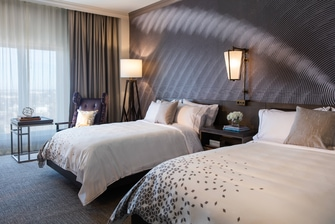 OKC hotel double guest room
