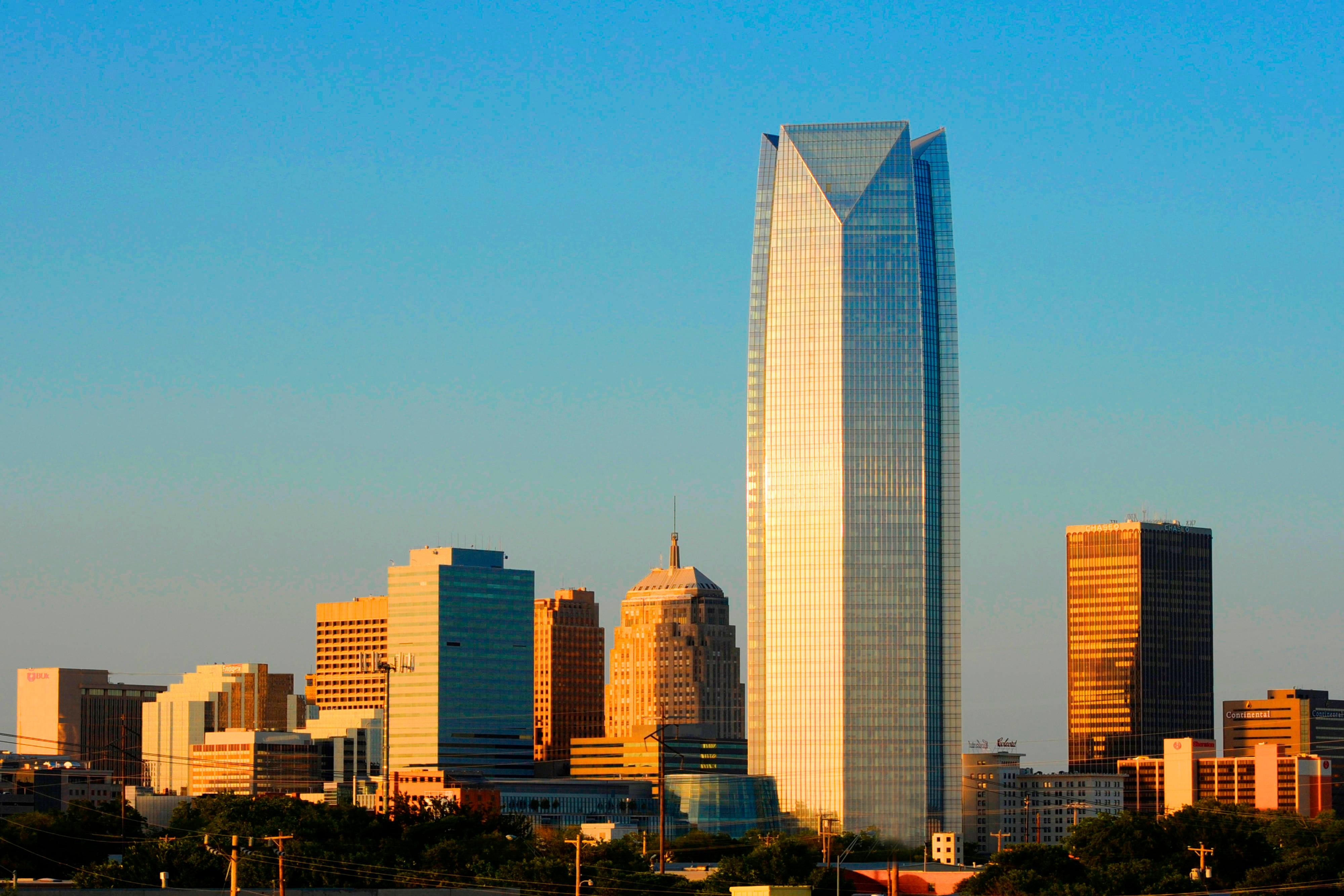 Oklahoma City Skyline