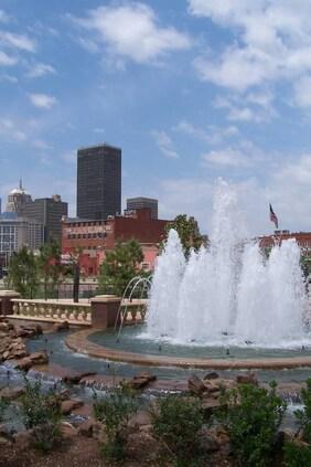 Bricktown Fountains