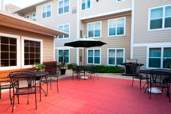 Oklahoma City Residence Inn Courtyard