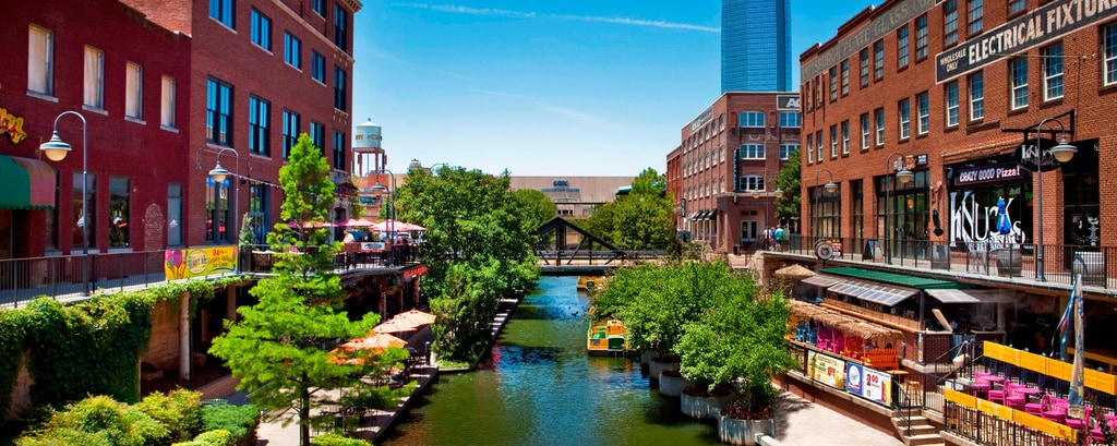 Bricktown Canal & Entertainment District
