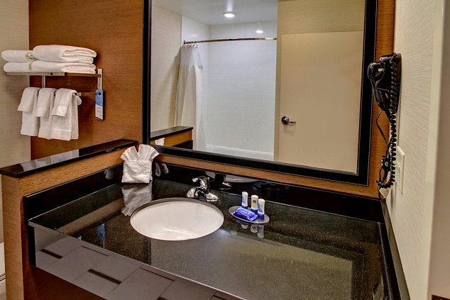 Guest Bathroom with Complimentary Amenities