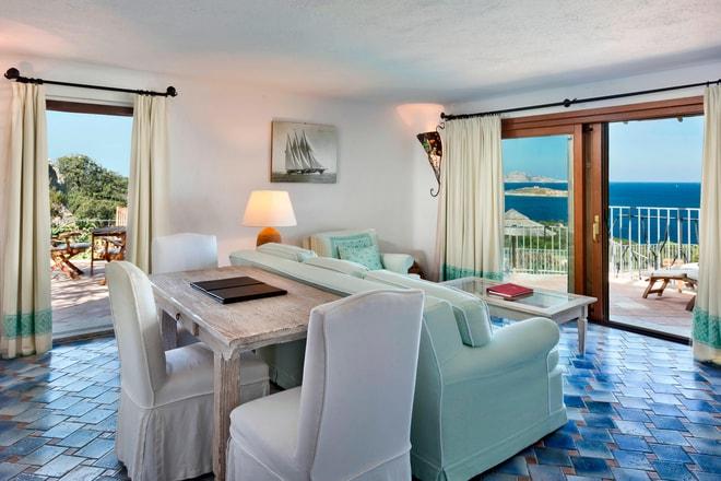 Unique Suite La Roccia - Living Area