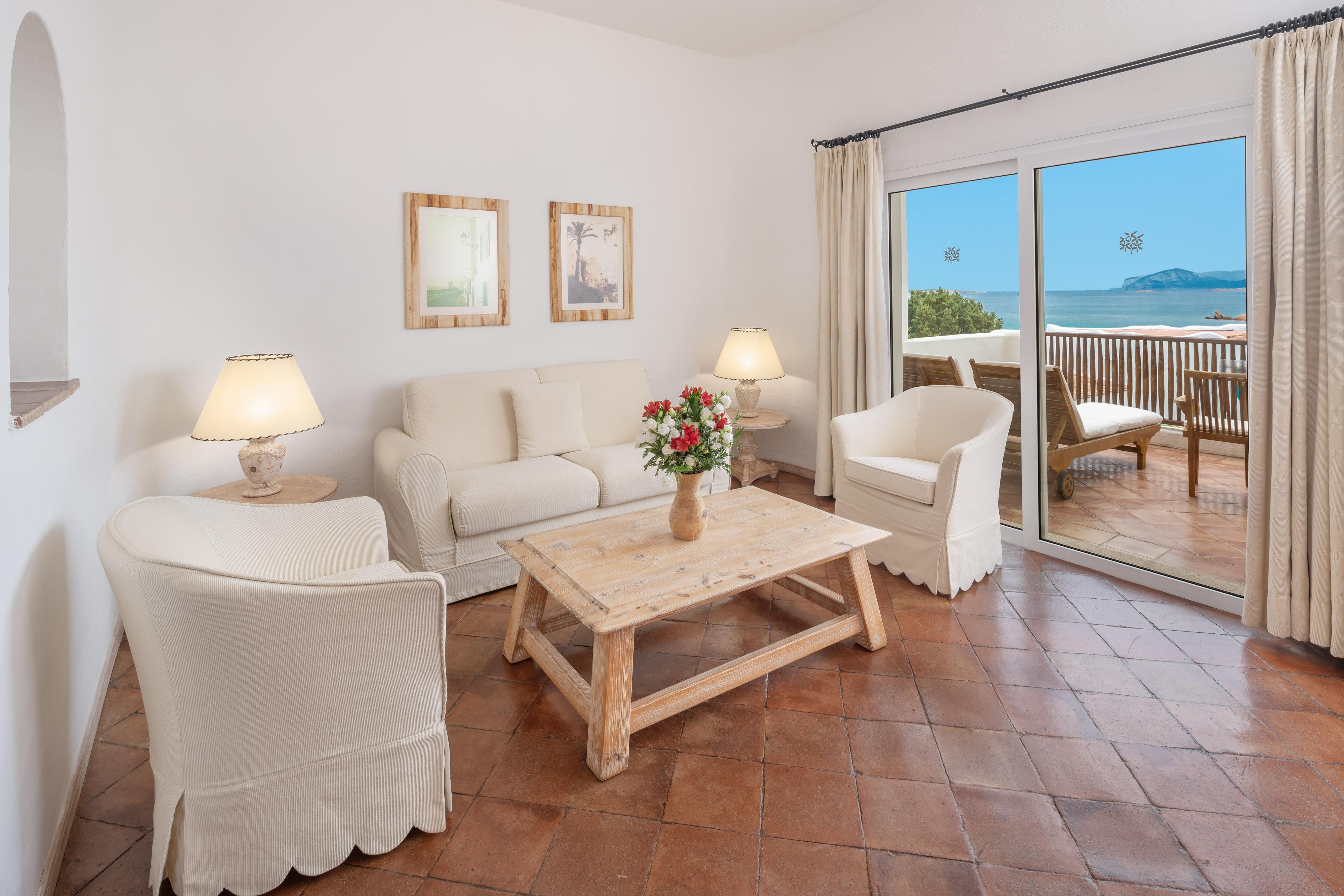 Premium Suite– Wohnzimmer