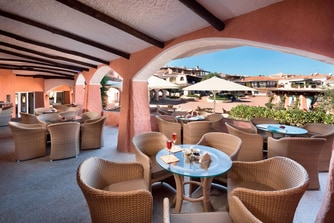 Bar Cervo - Terrace