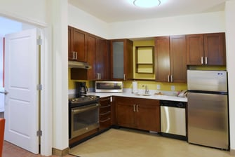 Accessible kitchen area