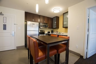 Two-Bedroom Suite – Kitchen & Dining Area