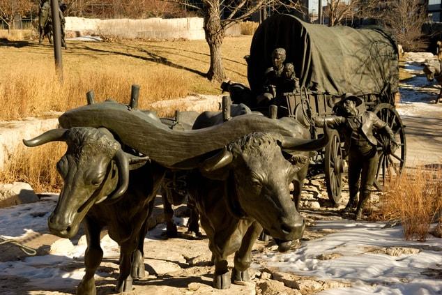 First National Park Sculpture
