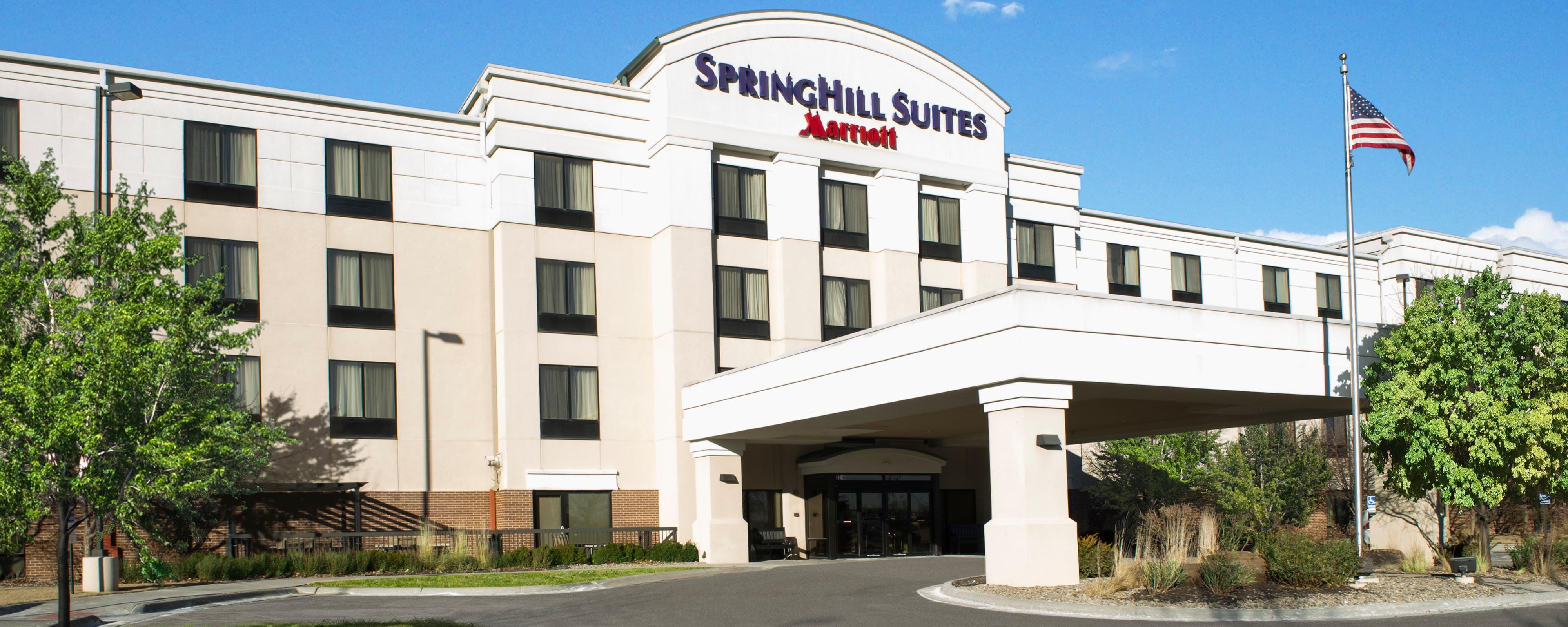 Fachada del SpringHill Suites Council Bluffs