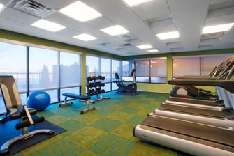 Springhill Suites Council Bluffs Fitness Center