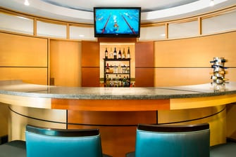 SpringHill Suites Council Bluffs Lobby Bar