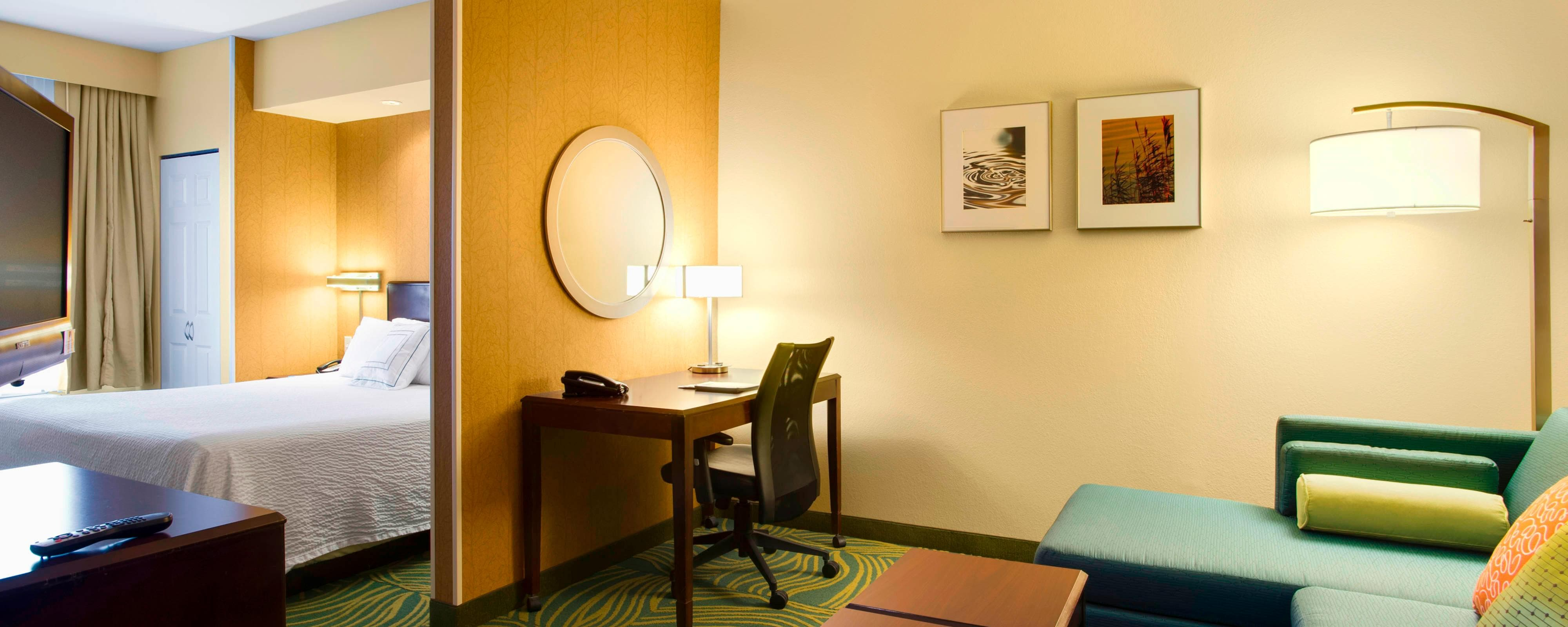 Suite Studio en el SpringHill Suites Council Bluffs